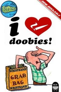 Image of New i love doobies!™ Wristbands grab bag