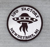 """Image of UFO FACTORY PATCH """"OFFICIAL"""" sold-out!"""