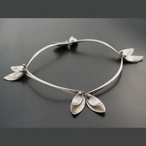 Image of Bamboo Bracelet - Skinny Leaves