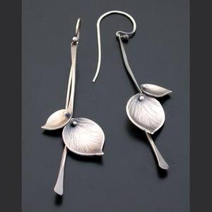 Image of Aspen Rain Earrings, Sterling