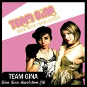 "Image of Team Gina ""Gina Gina Revolution"" CD DSBR005"