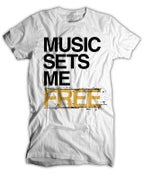 Image of Music Sets Me Free(MSMF) T-Shirt