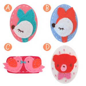 Image of big girl hair clips #22