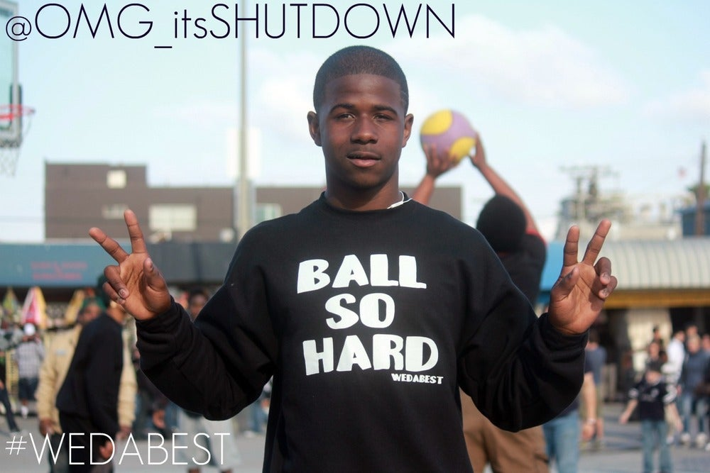 Image of BALL SO HARD CREWNECK