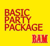 Image of BASIC PARTY PACKAGE