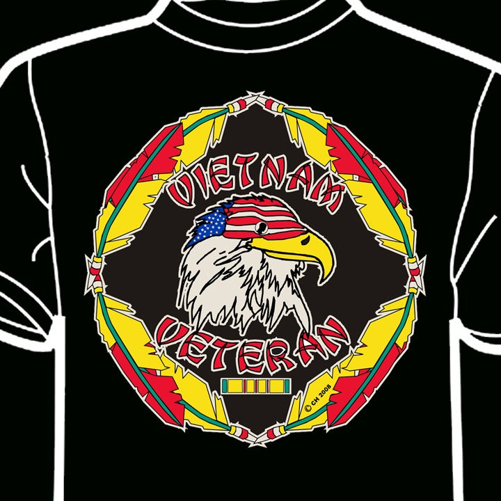 Image of Feathers Vietnam Veteran