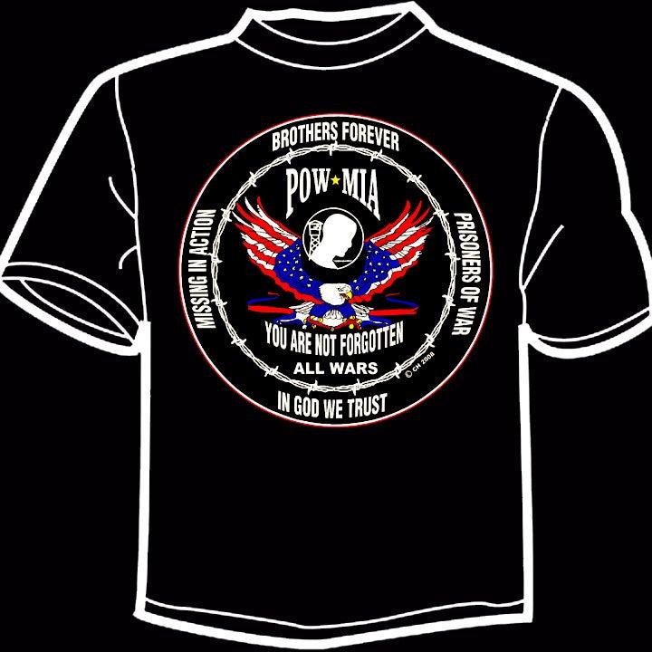 Image of All Wars POW MIA T-Shirt