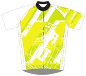 Image of GRAPHIX CYCLING JERSEY YELLOW