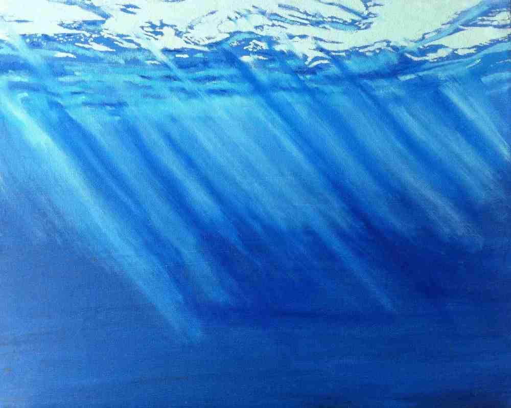 Image of Deep - Original Oil Painting