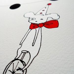 Image of Circus Dog Print