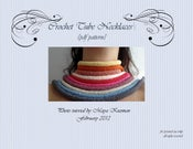 Image of PDF Crochet Pattern - Tube Necklaces