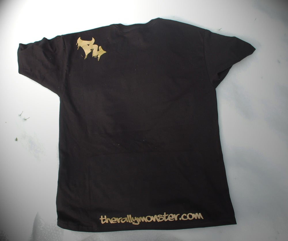 Image of Metallic Gold VW Knuckles Tee