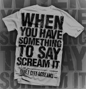 Image of Scream It T Shirt