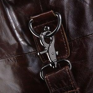 Image of Handmade Antique Leather Travel Bag / Tote / Messenger / Overnight Bag / Weekend Bag (n61)