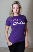 Image of My Dub Ladies T-Shirt (Purple)
