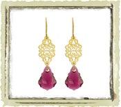 """Jewelry: """"Ruby Swarovski"""""""