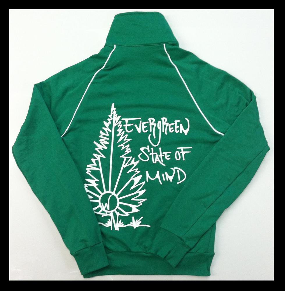 Image of Evergreen State Of Mind Track Jacket (Unisex)