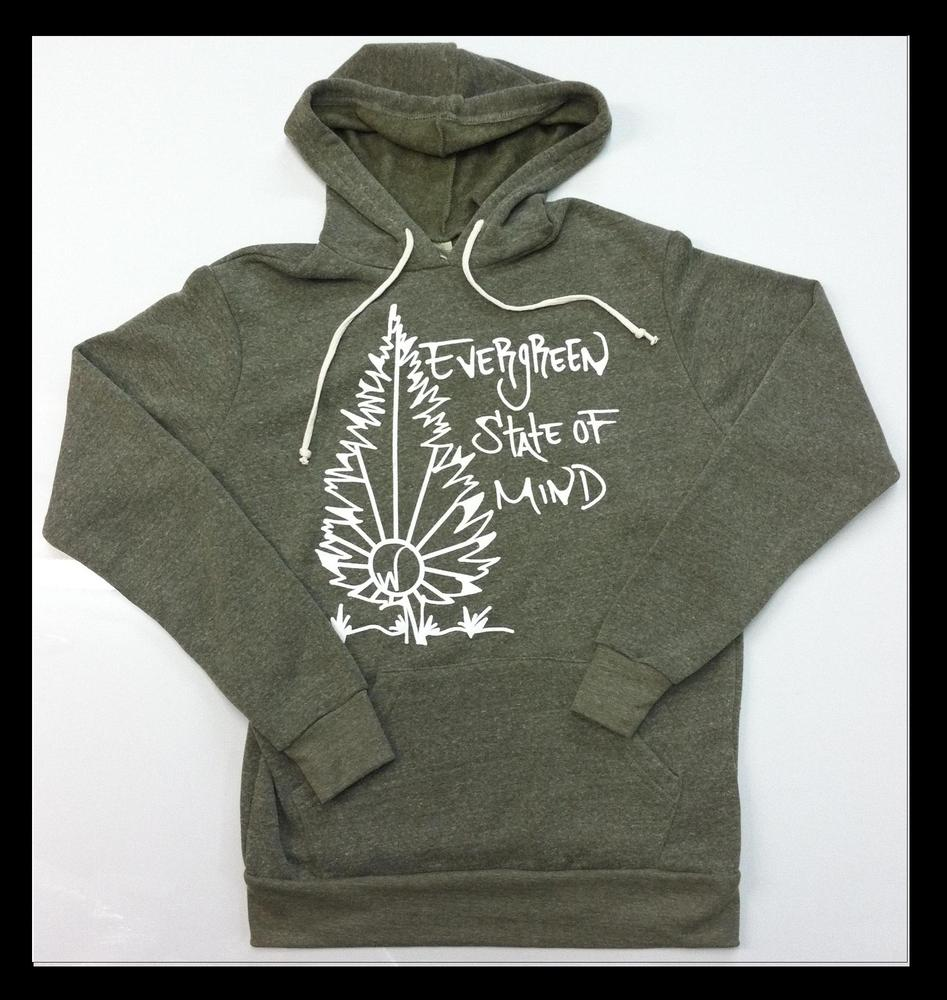 Image of Evergreen State Of Mind Hoodie (Unisex)