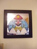 "Image of  ""I DO COCAINE"" Mirror screen print FRAMED!!!!"