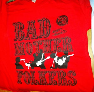 Image of Rusty Shackle 'Bad Mother Folkers' Tee