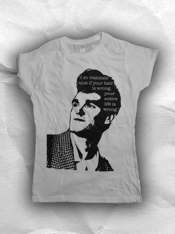 Image of What Morrissey Said Ladies Fit T Shirt
