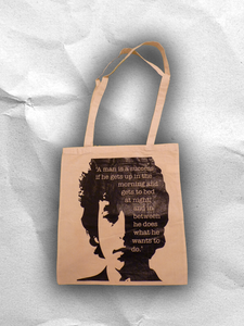 Image of What Bob Dylan Said Tote Bag