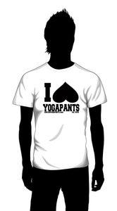 Image of I HEART YOGA PANTS (college)