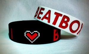 "Image of I Love BEATBOX Wristbands 3/4"""