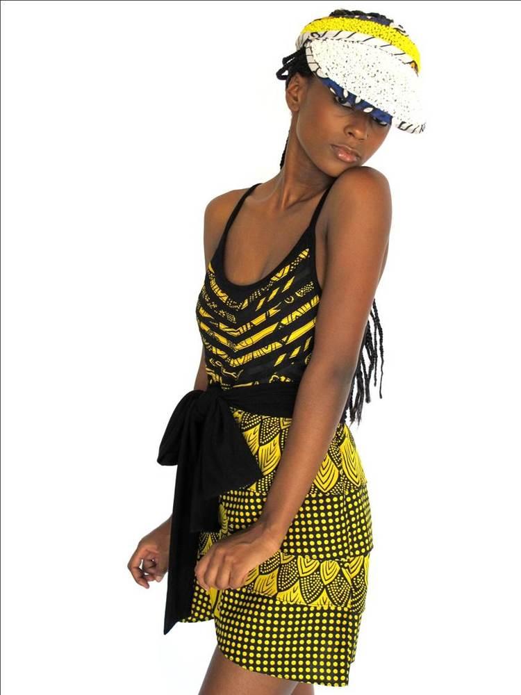 Image of The 'MAUA' Petal Dress