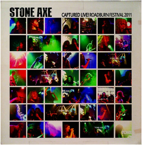 Image of Stone Axe: Captured Live! Roadburn Festival 2011 (CD)