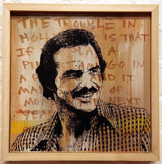 Image of Burt on Burt #1 - Scott Chasse