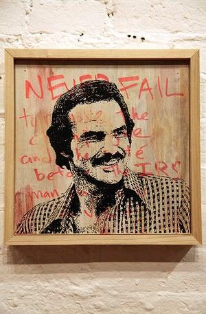 Image of Burt on Burt #4 by Scott Chasse