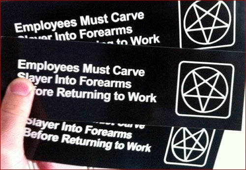Image of Carve Slayer Stickers