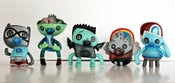 Image of Button eyes toys heroes of Burgertown
