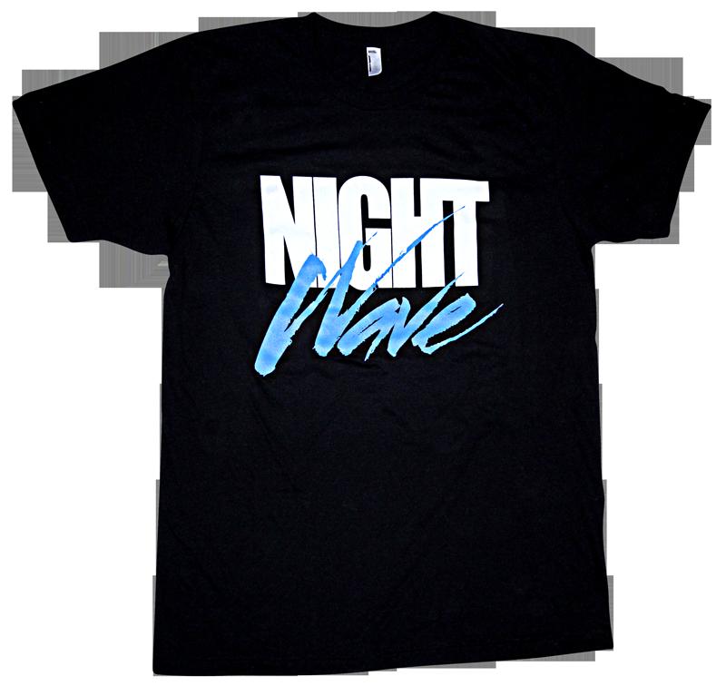 Image of HYPER CRUSH x LA GEAR NIGHT WAVE T-SHIRT (Black)