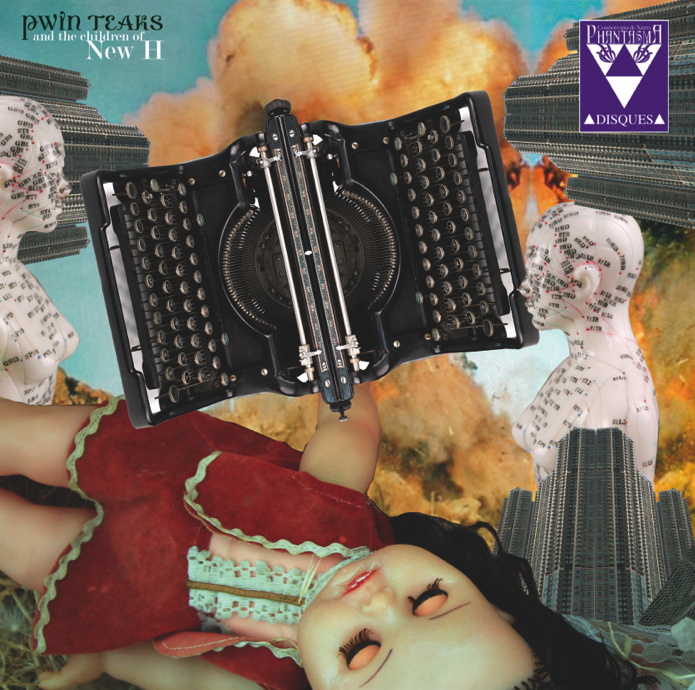 Image of PD-LP-005 PWIN TEAKS AND THE CHILDREN OF NEW H - KOSMISCHE PUPPEN LP