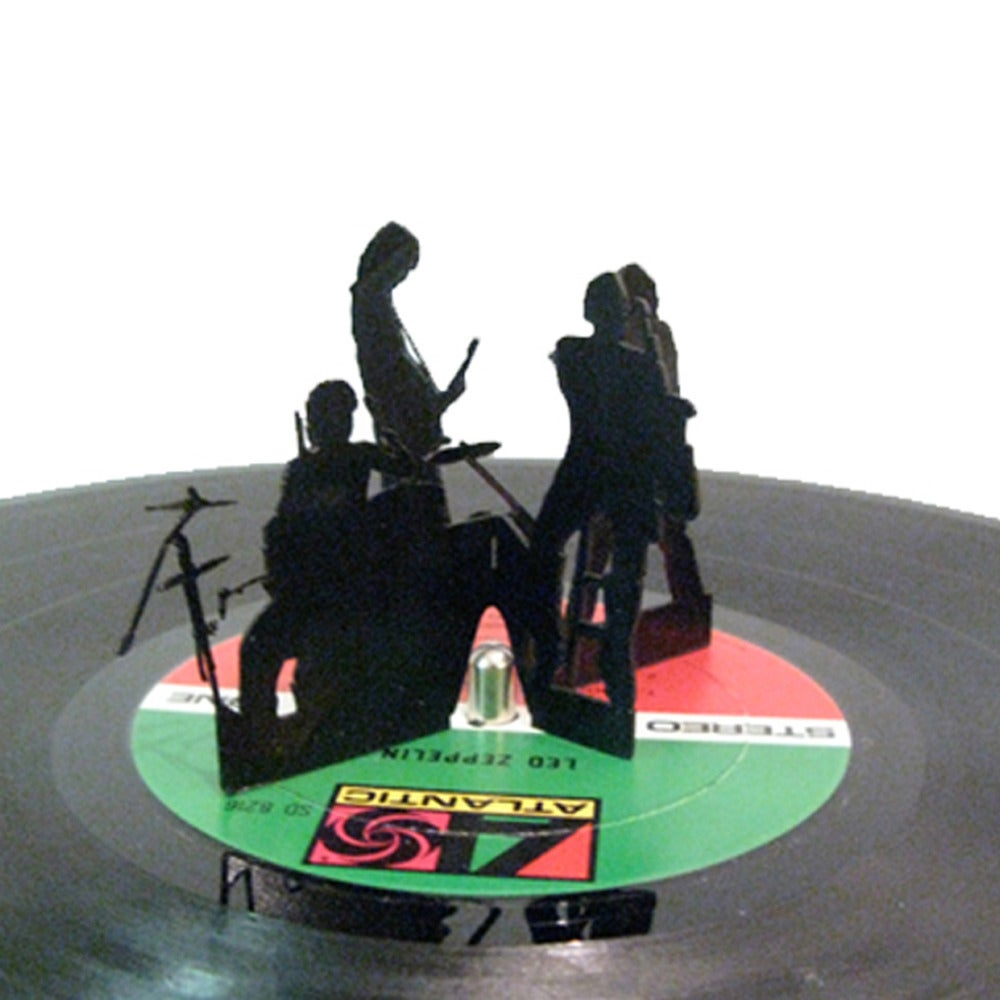 Image of Recycled Vinyl Record Player Toys