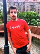 Image of Canary on Red