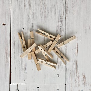 Image of Mini Wooden Pegs