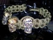 Image of Skull Survival Bracelet (Limited Supply)