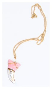 Image of Jurassic Pink Necklace