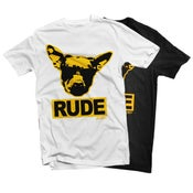 Image of RUDE LOGO TEE