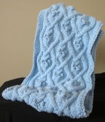 Image of Aran Bobble Tube Scarf