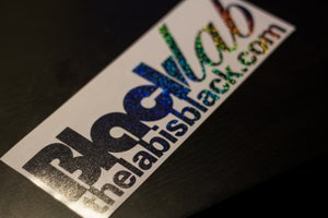 Image of Black Sparkle Vinyl.