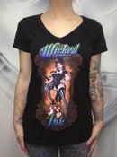 Image of Ladies Black Ringmaster T-Shirt