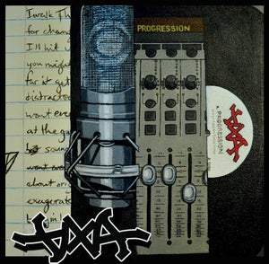 Image of DXA - Progression LP // CD