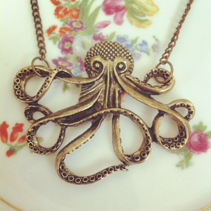 Image of Octopus necklace