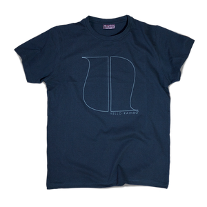 Image of NAVY BLUE LOGO T-SHIRT