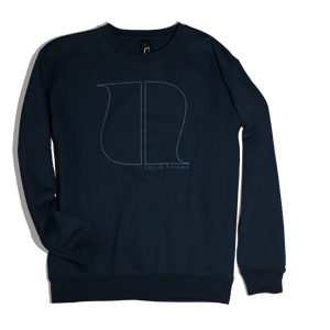 Image of NAVY BLUE LOGO SWEATSHIRT
