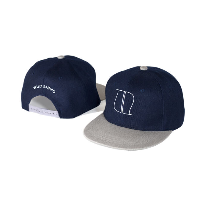 Image of NAVY BLUE/GREY SNAPBACK